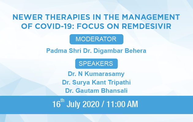 Newer Therapies In The Management Of COVID-19 : Focus On REMDESIVIR
