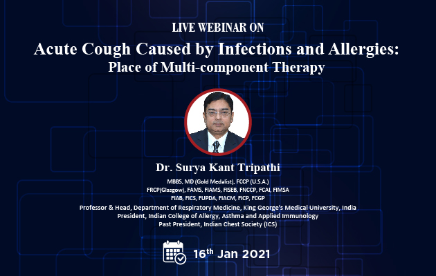 Acute Cough Caused by Infections and Allergies : Place of Multi-component Therapy